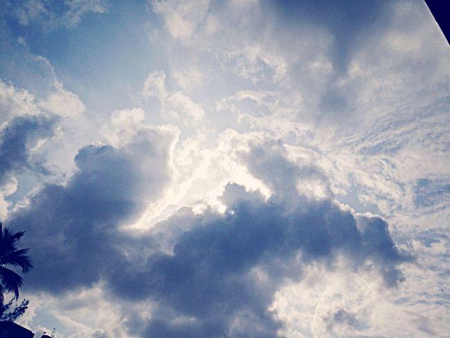 Vamos deitar na grama, falar sobre besteiras e olhar as nuvens do céu? Goodmorning Riovermelho Solzao Sun