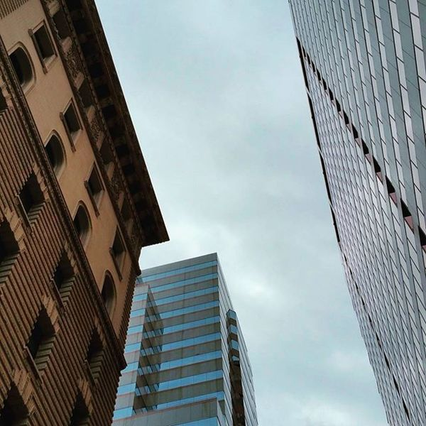 Limitless. ▫ Ig_color Instamood Citygram Moodygrams Downtown Highrise Sky Skyline Urban Urbangrammers Urbangathering Imaginatones Reflectiongram Shadows Citylife Sights Tones Limitless Scenic Stormy Buildings Building Mix Different ERA