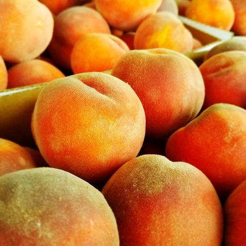 fuzzy peaches Peaches🍑 Peach Fuzz Supermarket Fruit Healthy Lifestyle Full Frame Backgrounds Market Close-up Food And Drink Peach Farmer's Market