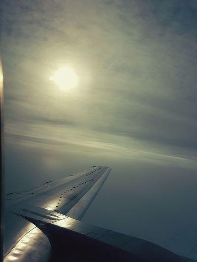 On my way home