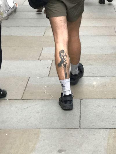 Tattoos Black Tattoo Legstattoo Walking Around IPhone7Plus Iphoneonly Taking Pictures Tadaa Community Tadaa Friends