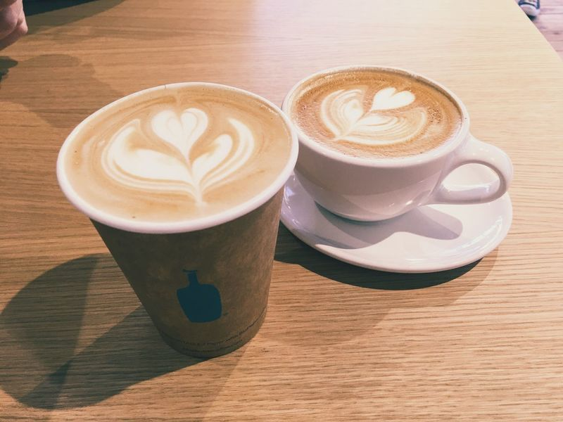 Blue Bottle Coffee Coffee Latte Cafe Latte Coffee Break Latte Art Vscocam