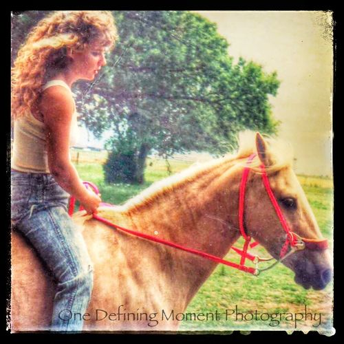 Everyday Joy an old restored photo I took years ago Authentic Moments I Love My Horse EyeEm Animal Lover Horses Horsewoman Palomino For The Love Of Horses Love Horseriding