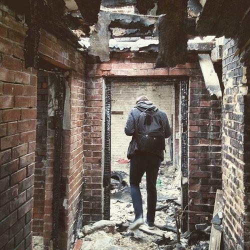 Old Rusty Fire Brick