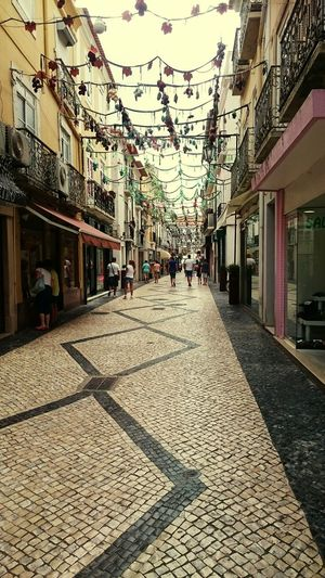 Cobblestone Streets Cobblestone Art Vintage Shopping Xperiaphotography Portugal Blues