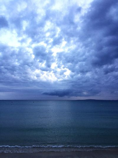 Beauty In Nature Sea Sky Horizon Over Water Cloud - Sky No People Beach Outdoors Water