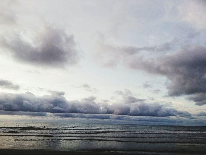 Sea and clouds Cartagena, Colombia Brisa Water Sea Beach Sky Horizon Over Water Landscape Cloud - Sky Dramatic Sky Atmospheric Mood Calm Seascape Romantic Sky Moody Sky Cloudscape