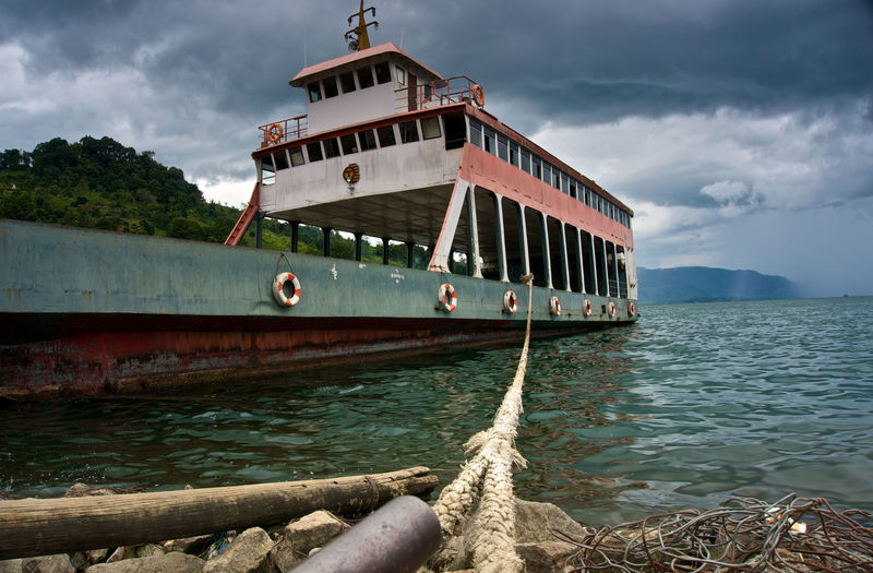LakeToba  Toba Nature Boats Boat INDONESIA Sumatra  last years holiday to indonesia