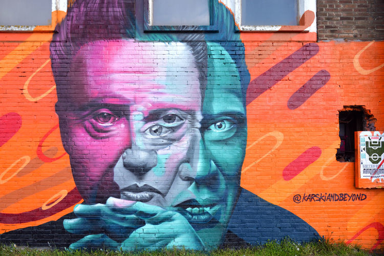 Multipleyes Graffiti City Urban Street Art Amsterdam Painting Paint Wall Outdoors Europe Netherlands Street Art/Graffiti Ndsm Multi Colored NL528_AMSTERDAM_AK NL528_NETHERLANDS_AK