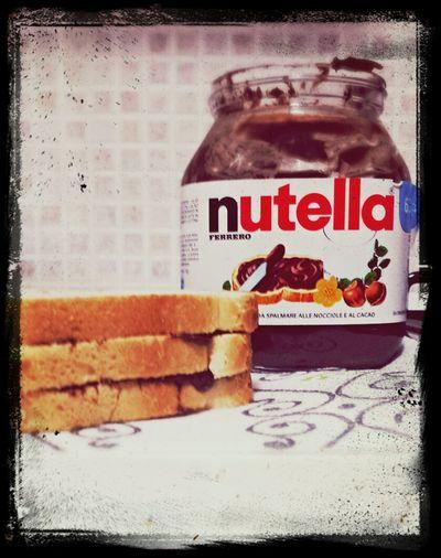 Merenda  Da Piccola... Dolci Ricordi Nutella ♥