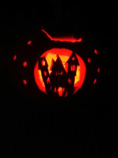 Dark Illuminated Glowing Holidays Jackolanterns Pumpkincarving Nightphotography Darkness Halloween EyeEm Halloween