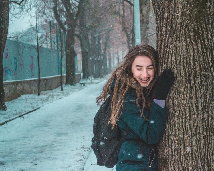 EyeEm Selects EyeEm Best Shots EyeEm EyeEmNewHere Eyem Gallery Student Girl Creativity Creative Photography Colors Snow ❄ Snow Blue Winter Wintertime