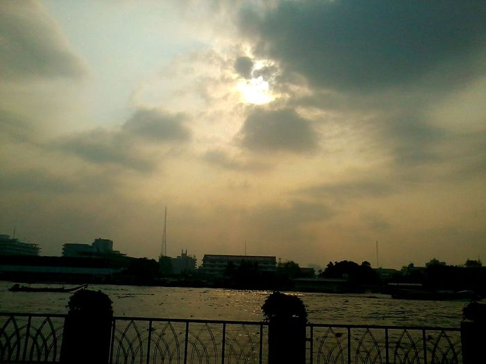 How's The Weather Today? Enjoying The View Clouds And Sky 'enjoy The Sun Bangkok,Thailand(Siam)