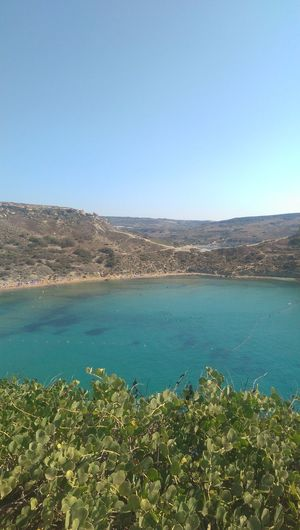 Scenics Shades Of Blue Steep Cliff Steep Coast Nature Beach Outdoors No People Sky Tranquility Beaches Of Malta