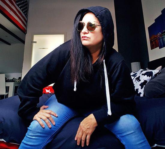 #photography #JustMe #picoftheday #EyeEm #sexy #jeans Sitting Portrait Posing Sunglasses Pretty