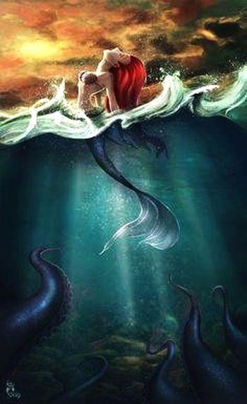 1989 - The Little Mermaid - My Birth Year...!! Mermaid Little Mermaid  Always Be A Mermaid Beautiful ♥ RedHeadBeauty Redheadarmy That's Me
