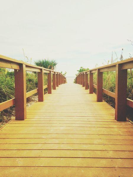 Pier Beach Fort Myers Beach Florida United States Ocean