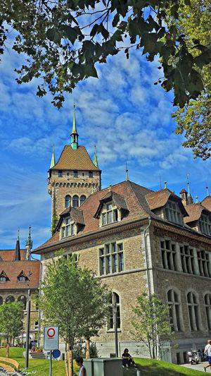 Landesmuseum Architecture Building Exterior Built Structure City Cloud History Landesmuseum Zürich Low Angle View Outdoors Schweiz Switzerland The Past Tourism Zürich