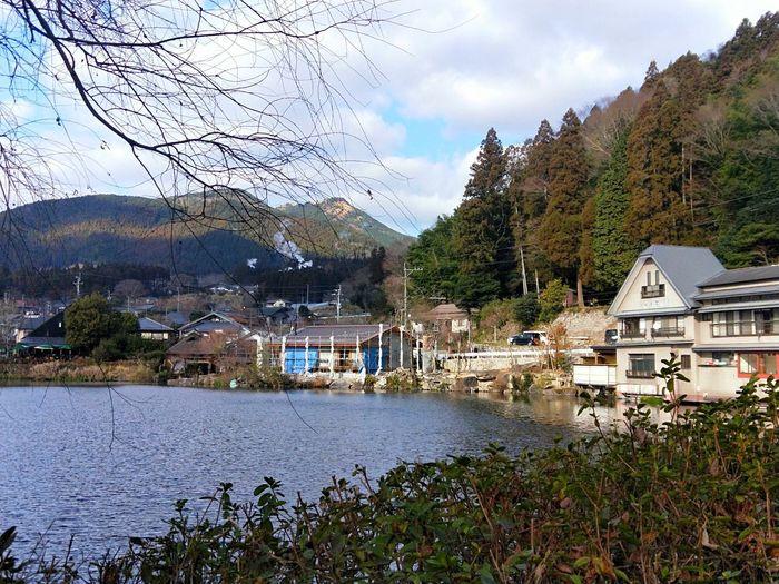 日本 湖 日本の風景