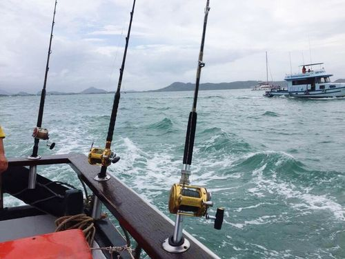 Sea fishing Wave Outdoor Photography Fishing Boats Rigs Sea Adventures Sea