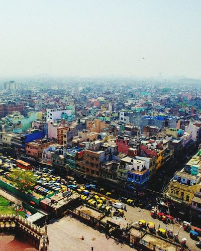 The Architect - 2017 EyeEm Awards Architecture Skyscraper Business Finance And Industry High Angle View Cityscape City Sky Outdoors Day Chandni Chowk Auto Delhi_igers Delhi6 The Great Outdoors - 2017 EyeEm Awards