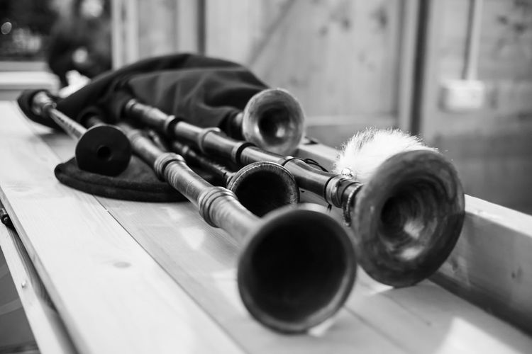 Arts Culture And Entertainment Musical Instrument Music Wood - Material Bagpipes Folklore Selective Focus Cornamusa Natale  Christmas