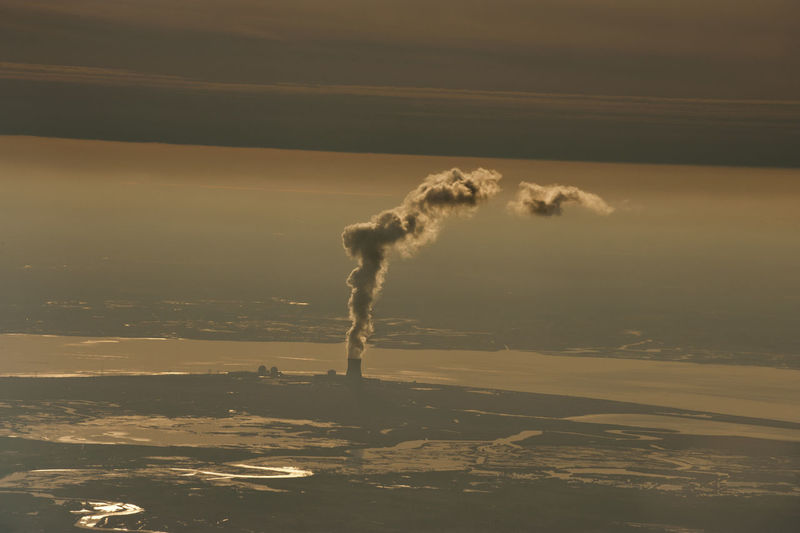 Sky Aerial View No People Nature Aerial Aerial Photography Aerial Shot Aerial Landscape Emitting Smoke Stack Environment Factory Pollution Chimney Atmospheric Industry Landscape Architecture Fumes Smoke Air Pollution Ecosystem  Cloud - Sky Environmental Issues Smoke - Physical Structure Building Exterior