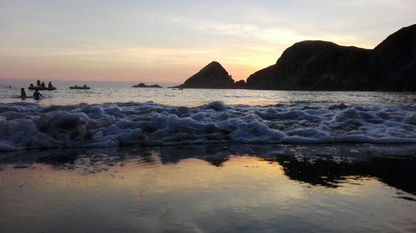 Catarindo Arequipa - Peru Peru Water Sea Sunset Beach Silhouette Blue Summer Beauty Reflection Mountain