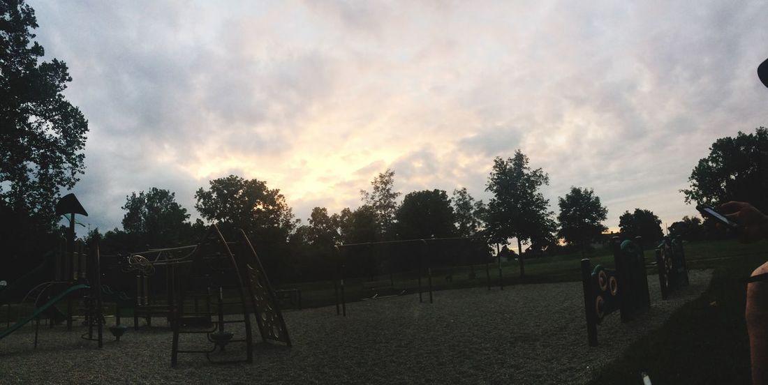Outdoors Sunset