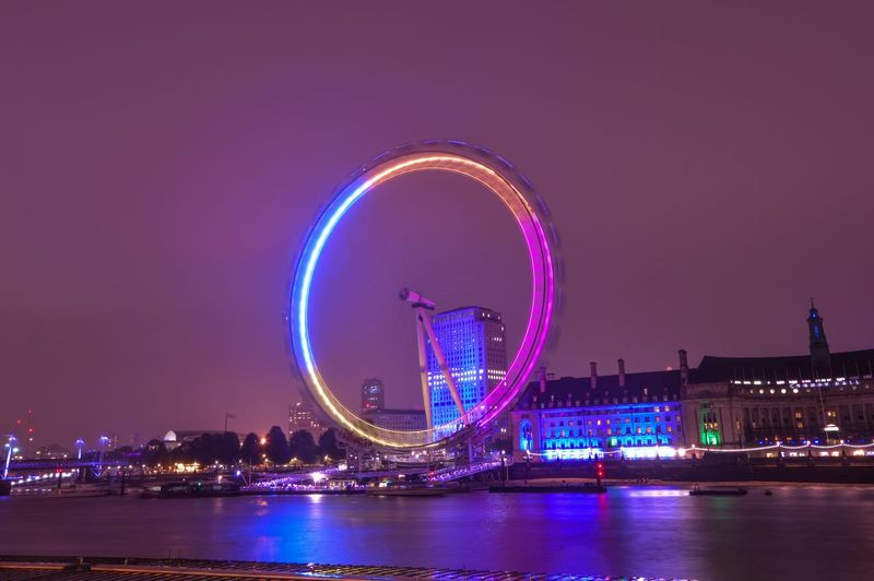 Beautiful Photography Cityscapes Streetphotography Photooftheday London Picoftheday Lights Nights  Hello World Picture Londoneye #bynight LondonEye Sayhi