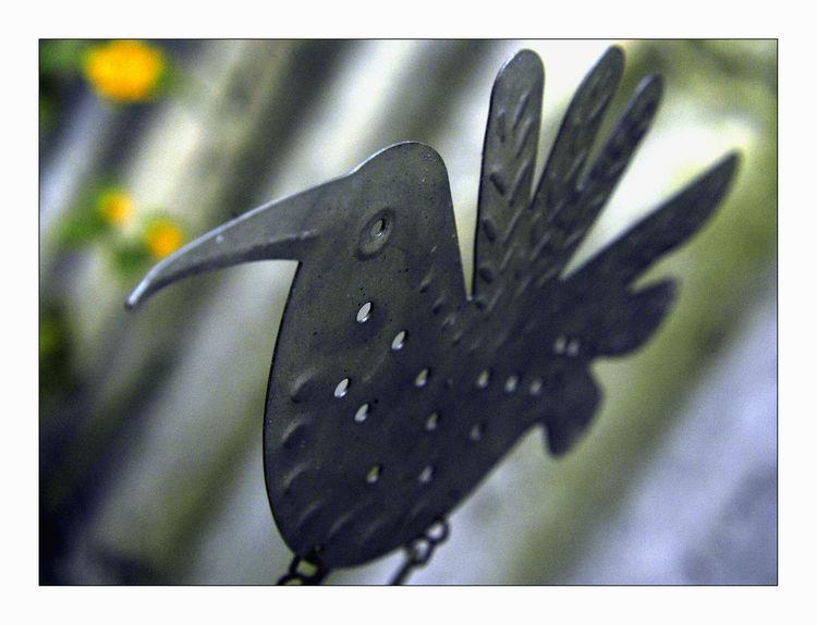 Bird Representation Garden Decoration Bird Close-up Day Metal No People Outdoors Single Object