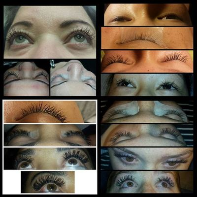 Really excited to be learning extension! Lashextensions Couplemoremonths