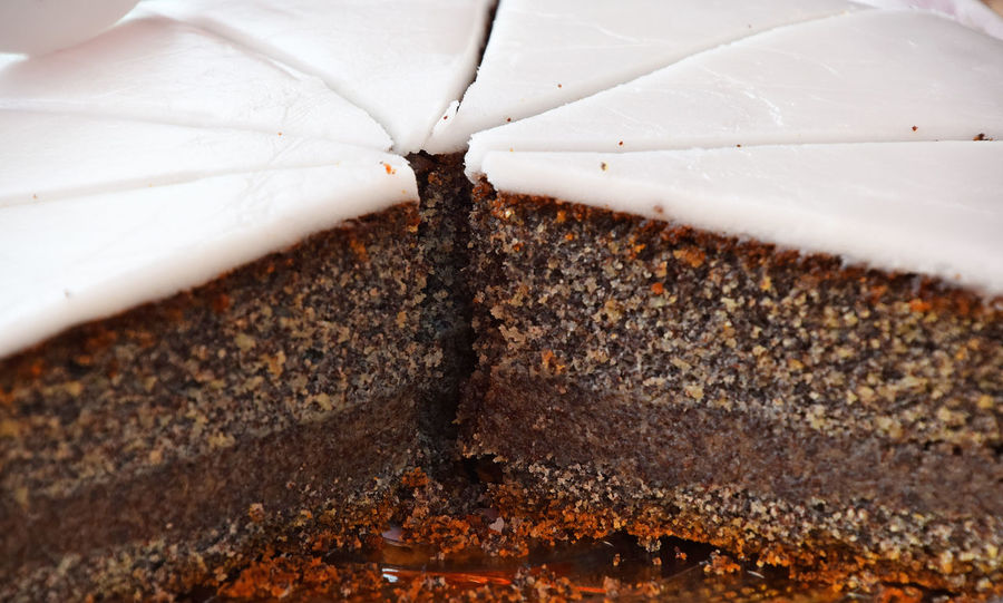 Sweet poppy seed cake, personal perspective Chocolate Cuisine Bakery Bakery Cafe Cake Cake Time Chocolate Cake Close-up Freshness Personal Perspective Pie Pieces Poppy Seed Poppy Seed Cake Sweet Sweet Food Sweettooth Tasty