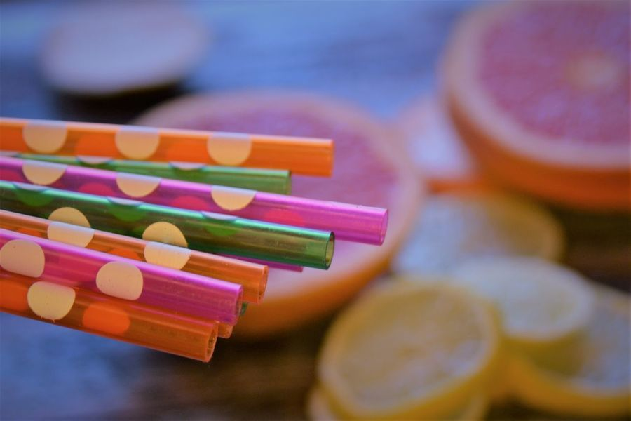 colorfull straws Blue Table Bright Citrus  Close-up Cocktails Day Dots Drink Drinks Festival Grapefruit Healthy Healthy Coctails Lemons Multi Colored Multi Coloured No People Party Plastic Polka Dots  Preparation  Preparing Drinks Straw Straws Summer
