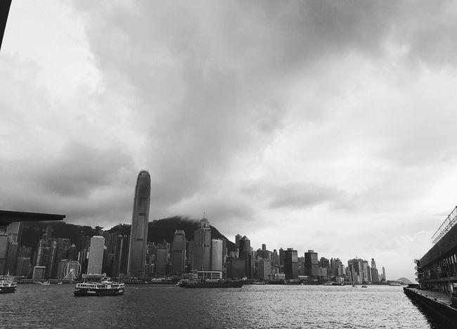 No good weather recently Hongkong TsimShaTsui