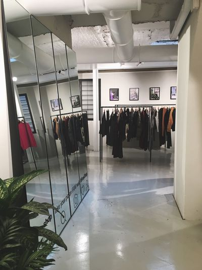 FRAV concept store. 👀 Clothing Indoors  Hanging Built Structure No People Store Architecture Day
