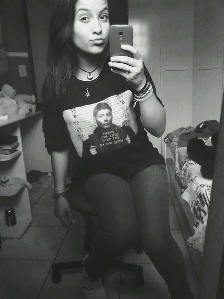 my new t-shirt of Dean❤ Winchester ??❤ Supernatural SPN 😊