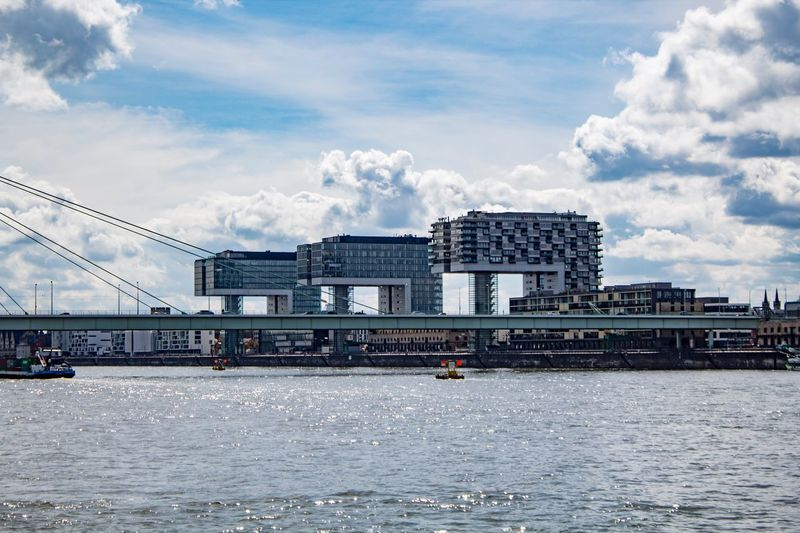 https://www.instagram.com/nielskarner/ Kranhäuser Nofilter Cologne Built Structure Architecture Cloud - Sky Building Exterior Sky Water Waterfront City Day Travel River Travel Destinations Building Modern Outdoors EyeEmNewHere