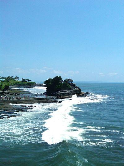 Tanah Lot Bali Beach Scenics Tranquility Outdoors