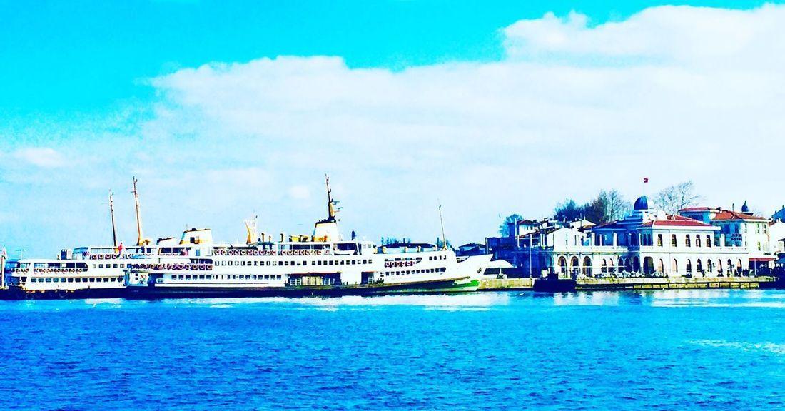 Prince Islands Istanbul Prinkipo Nautical Vessel Water Sky Sea Transportation Cloud - Sky