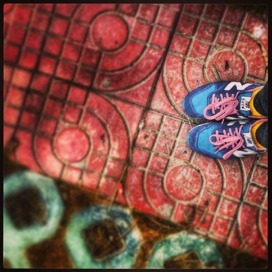 Running, all the time. Be new, be young, be positive. New baby . NewBalance 996
