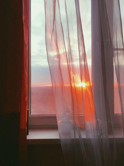 Window Transparent Glass - Material Sky Curtain Indoors  Nature