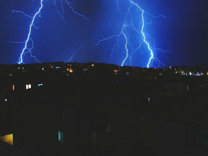 Thunder Lightning Excitement Adrenaline Timing Long Exposure Fearyandbeauty