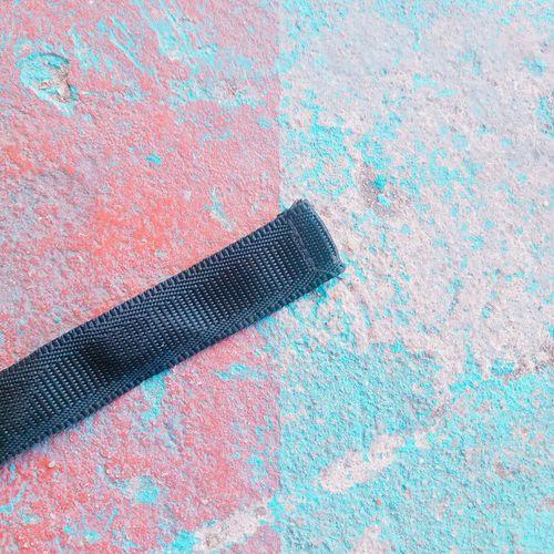 Close-Up Of Ribbon On Wall