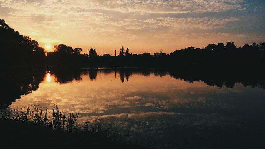 My best friend foto. Love her ❤ Water Sky Reflection Lake Tree Landscape Beauty In Nature No People