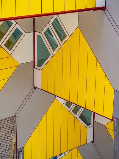 Architecture City EyeEm Best Shots Modern Netherlands Rotterdam Architecture Backgrounds Blue Building Building Exterior Built Structure Day Design Domestic Dutch Eye Catching Full Frame Geometric Shape Homes Housing Low Angle Low Angle View Monument Multi Colored No People Outdoors Pattern Piet Blom Repetition Shape Side By Side Urban Wall - Building Feature Yellow The Architect - 2018 EyeEm Awards