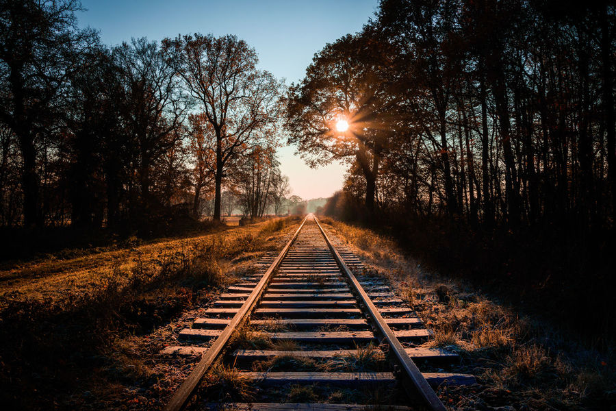 50+ Railroad Tracks Pictures HD | Download Authentic Images on EyeEm