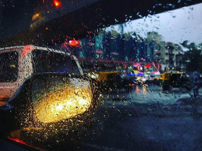Rain Glass - Material Motor Vehicle Car Transportation Vehicle Interior Capture Tomorrow