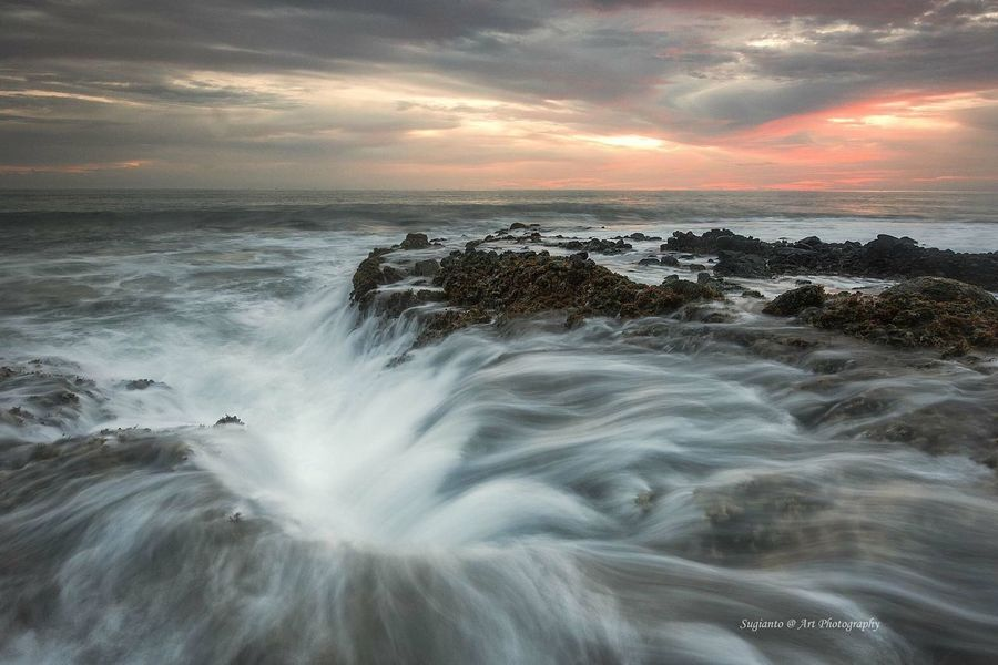 """ Cloudy Sunset "" Water Nature Seascape Sea Landscape Photography Nature Landscape_Collection Landscape"