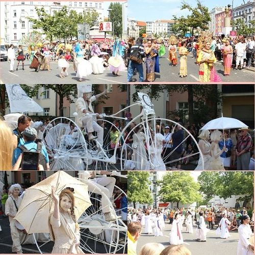 Different countries representating their country and culture. It was fun to watch but too ?hot? today. Karneval2014🔔 Berlin Pfingsten Kultur🎎 different countries Karnevalberlin? ?sunny ☀ cultureshow igers igersberlin igersgermany 2014 berlincity ✌